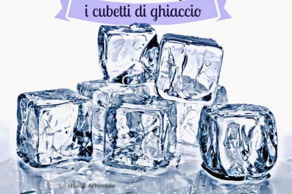 ghiaccio sul viso