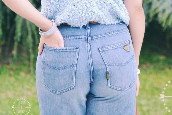 jeans a vita alta