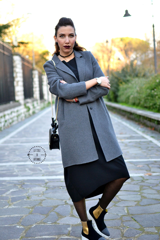 cappotto grigio zara
