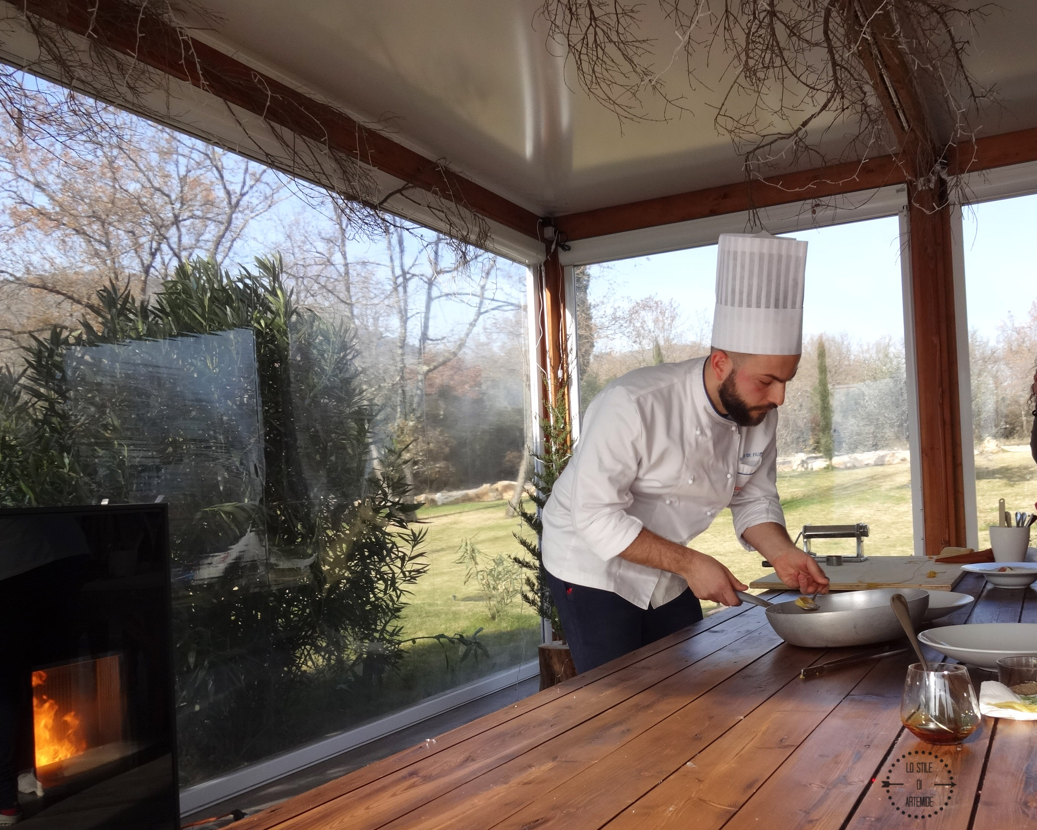 show cooking tenuta esdra