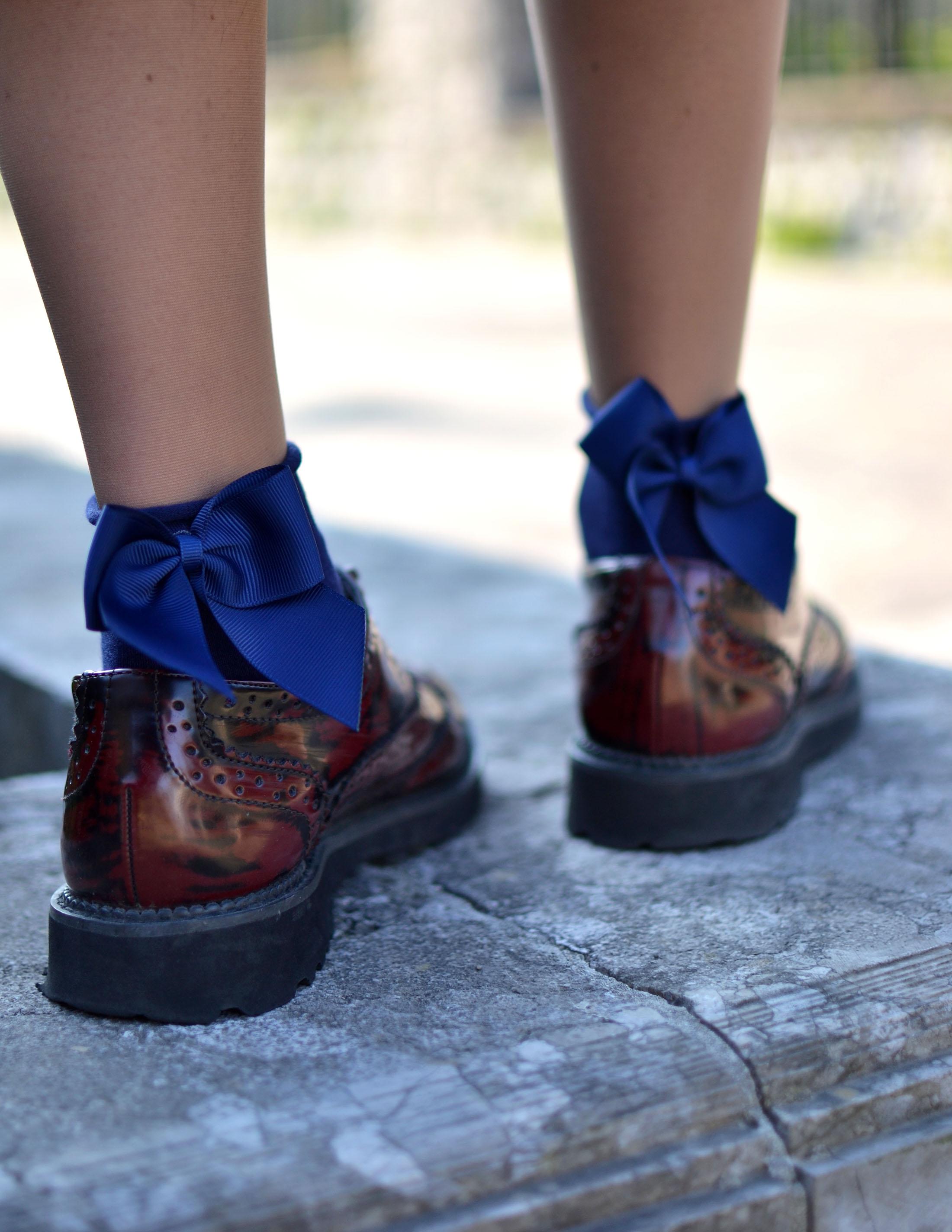 calzini fiocchi