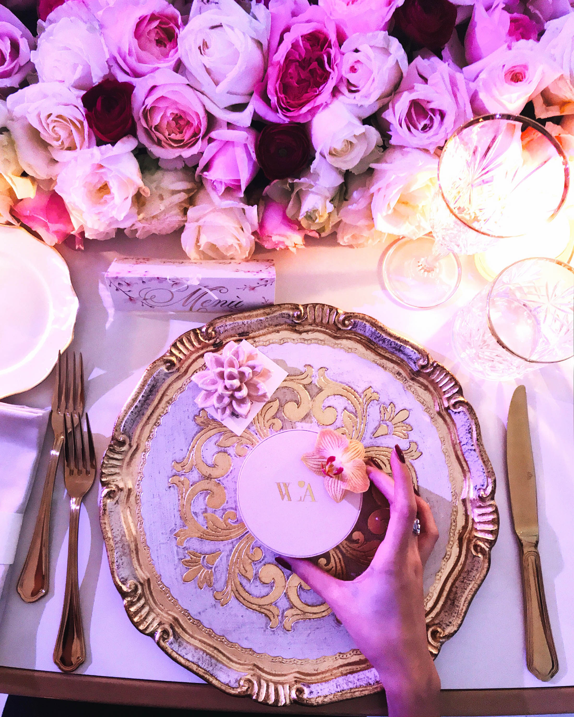 W L'AMORE: la cena/sogno di Cira Lombardo wedding planner