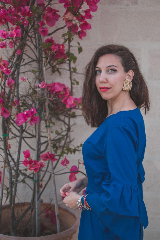 Il vestito dalle maniche a tulipano Fabrique Handmade