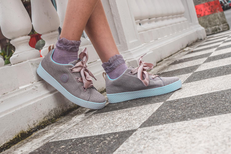 bugatti sneakers con lacci in raso