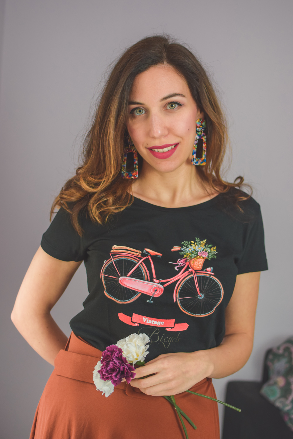 t-shirt organic cotton made in italy