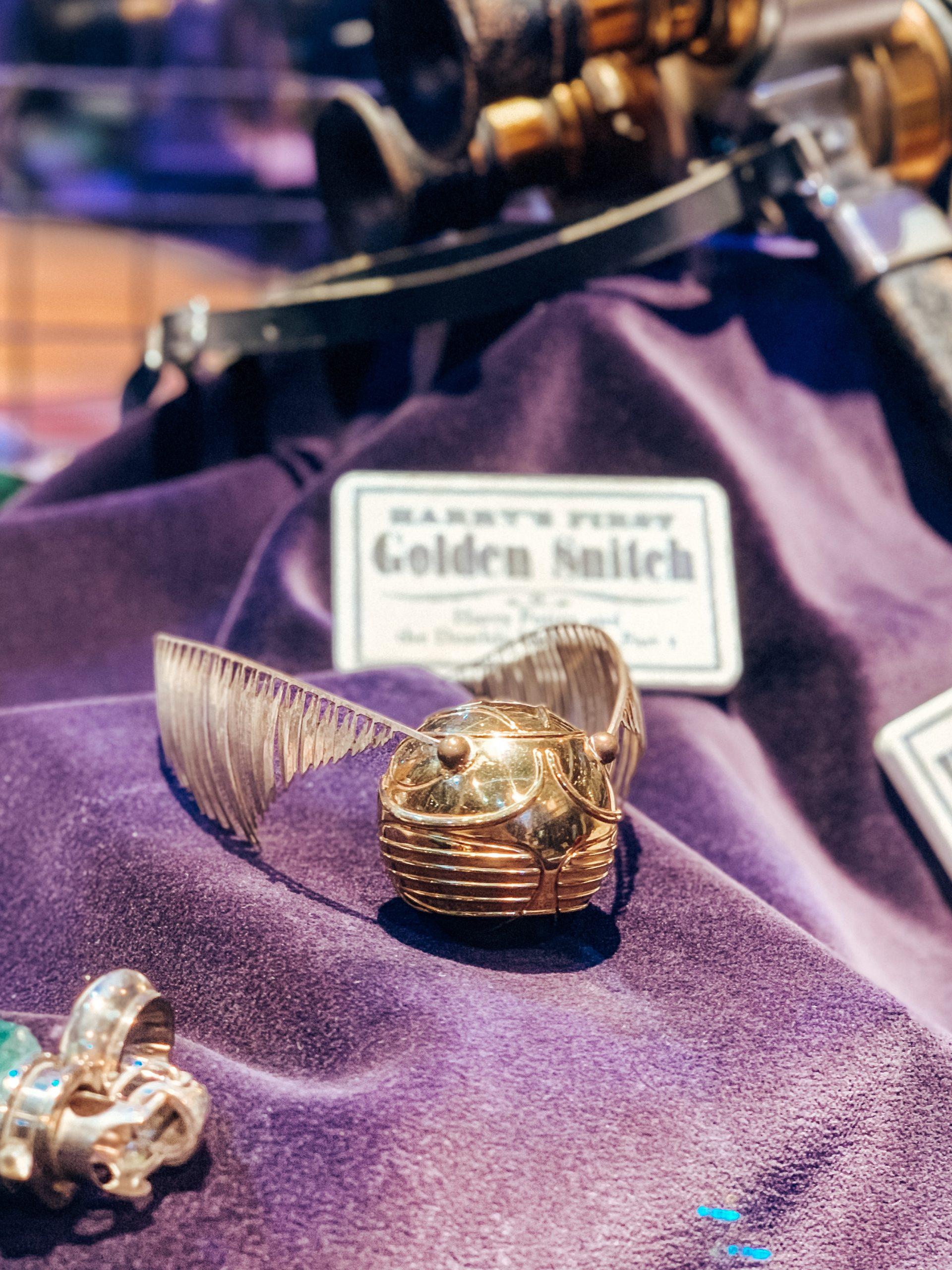 boccino d'oro Harry Potter Studios Londra
