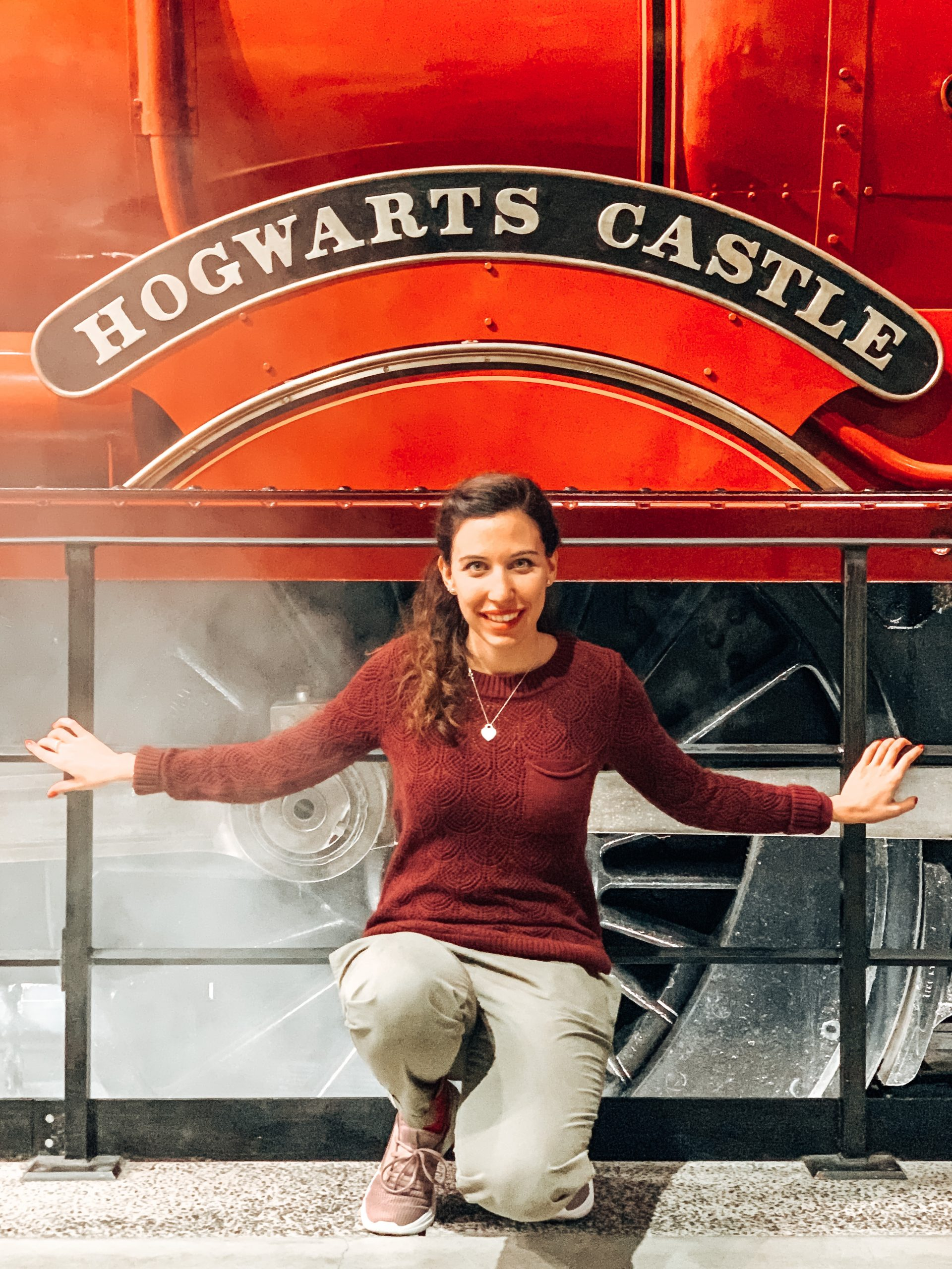 hogwarts express Harry Potter Studios Londra